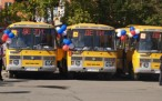 Новые автобусы - школам края