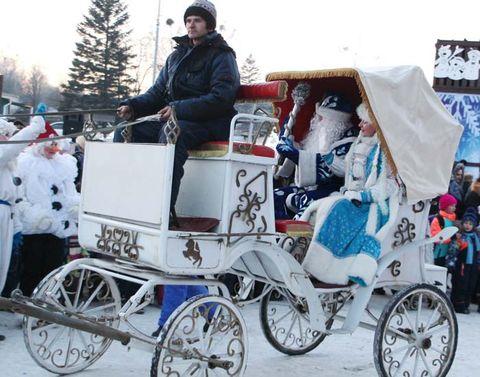 И прибыл праздник в белой карете